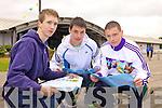 Steven Dineen, Micheal Nolan and John Hussey LC Mercy Mounthawk