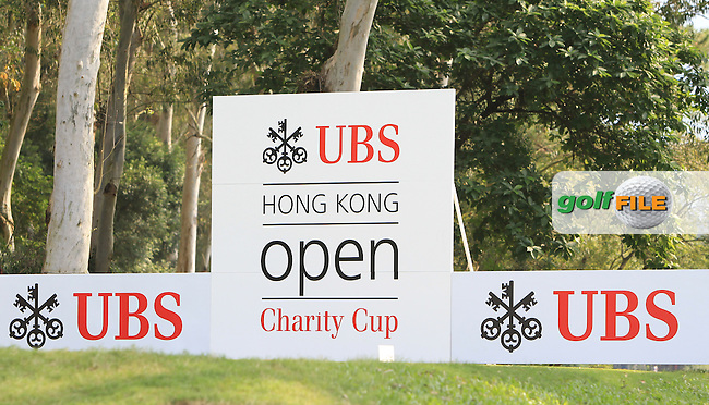 The 12th tee during Round 1 of the 2015 UBS Hong Kong Open at the Hong Kong Golf Club in The Netherlands on 2/10/15.<br /> Picture: Thos Caffrey | Golffile