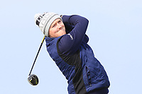 Eugene Smith (Laytown & Bettystown) on the 1st tee during Round 3 of The West of Ireland Open Championship in Co. Sligo Golf Club, Rosses Point, Sligo on Saturday 6th April 2019.<br /> Picture:  Thos Caffrey / www.golffile.ie