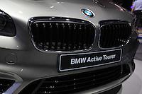 SAO PAULO, SP, 29.10.2014 - SALAO DO AUTOMOVEL - BMW Active Tourer 28º Salão Internacional do Automóvel de São Paulo, nesta quarta-feira,29 no Anhembi, na zona norte de São Paulo, SP. O evento acontece do dia 30 de outubro até o dia 9 de novembro. (Foto: Vanessa Carvalho / Brazil Photo Press).
