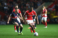 Joe Aribo of Charlton Athletic in action during Charlton Athletic vs Doncaster Rovers, Sky Bet EFL League 1 Play-Off Football at The Valley on 17th May 2019