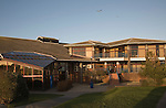 Leisure centre building, Felixstowe, Suffolk, England
