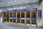 Tony Award flare at the 'Dear Evan Hansen' Marquee at The Music Box Theatre on June 13, 2017 in New York City.