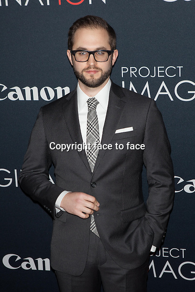 NEW YORK, NY - OCTOBER 24, 2013: Julian Higgins attends the Premiere Of Canon's Project Imaginat10n Film Festival at Alice Tully Hall on October 24, 2013 in New York City. <br /> Credit: MediaPunch/face to face<br /> - Germany, Austria, Switzerland, Eastern Europe, Australia, UK, USA, Taiwan, Singapore, China, Malaysia, Thailand, Sweden, Estonia, Latvia and Lithuania rights only -