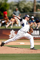 Jerry Sullivan of Oral Roberts University playing against Cal Poly in the Tempe Regionals at Packard Stadium, Tempe, AZ - 05/29/2009.Photo by:  Bill Mitchell/Four Seam Images