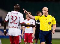 Washington, DC - April 12, 2014: D.C. United defeated the New York Red Bulls 1-0 at RFK Stadium.