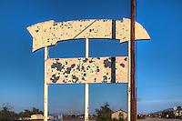Route 66 Daggett California.