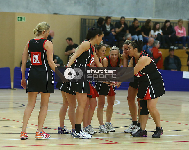 Premier Netball Final: Jacks  v Richmond Saxton Stadium ,Nelson New Zealand,Saturday 13th September 2014,Evan Barnes / Shuttersport.