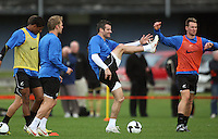 091110 FIFA World Cup Football - All Whites Training