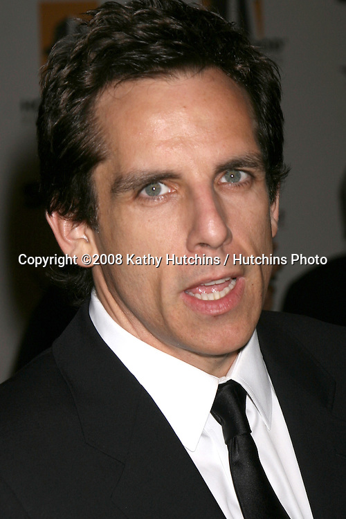 Ben Stiller  arriving to the Hollywood Film Festival Awards Gala at the Beverly Hilton Hotel in Beverly Hills, CA  on.October 27, 2008.©2008 Kathy Hutchins / Hutchins Photo...                .