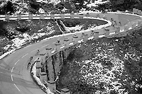 2013 Giro d'Italia.stage16..down the Col du Montcenis (2081m)