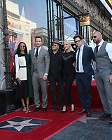 LOS ANGELES - APR 21:  Zoe Saldana, Chris Pratt, Michael Rooker, Pom Klementieff, James Gunn, Dave Bautista at the Walk of Fame Star Ceremony on the Hollywood Walk of Fame on April 21, 2017 in Los Angeles, CA