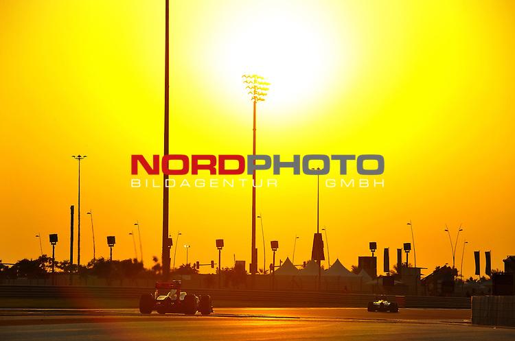 01.-04.11.2012, Yas-Marina-Circuit, Abu Dhabi, UAE, Grosser Preis von Abu Dhabi, im Bild Pedro de la Rosa (ESP), HRT Formula one Team <br />  Foto &copy; nph / Mathis