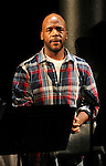 Curtis McClarin during the Curtain Call for the 10th Anniversary Production of 'The Exonerated' at the Culture Project in New York City on 9/19/2012.
