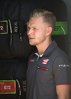 KEVIN MAGNUSSEN (DEN) of Haas F1 Team during The Formula 1 2018 Rolex British Grand Prix at Silverstone Circuit, Northampton, England on 8 July 2018. Photo by Vince  Mignott.
