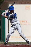 18 July 2010: Luc Piquet of Team France is seen at bat during day 6 of the Open de Rouen, an international tournament with Team France, Team Saint Martin, Team All Star Elite, at Stade Pierre Rolland, in Rouen, France.