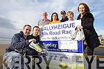 Risteárd Ó Fuaráin, Seamus Falvey, John Brassil, Lisa Harkin, Sean Kenny, Mary O'Sullivan and Laura Dineen preparing for the Ballyheigue 10K taking place on February 24th.