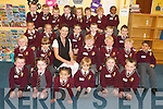 READY FOR MORE: Mrs Linda Hannifin's class settle into school life straight away on Monday morning in Holy Family School, Tralee.