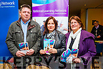 At Open Our Minds Mental Wellness Exhibition in the Brandon Hotel on Sunday were The National Learning Network, Jeff Elvans, Helen Egan and Mary Behan.
