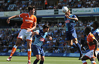 Wycombe Wanderers' Adam El-Abd heads clear<br /> <br /> Photographer Kevin Barnes/CameraSport<br /> <br /> The EFL Sky Bet League One - Wycombe Wanderers v Blackpool - Saturday 4th August 2018 - Adams Park - Wycombe<br /> <br /> World Copyright &copy; 2018 CameraSport. All rights reserved. 43 Linden Ave. Countesthorpe. Leicester. England. LE8 5PG - Tel: +44 (0) 116 277 4147 - admin@camerasport.com - www.camerasport.com