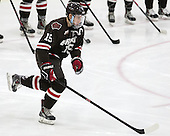 Matt Lorito (Brown - 19) - The Harvard University Crimson defeated the Brown University Bears 4-3 to sweep their first round match up in the ECAC playoffs on Saturday, March 7, 2015, at Bright-Landry Hockey Center in Cambridge, Massachusetts.