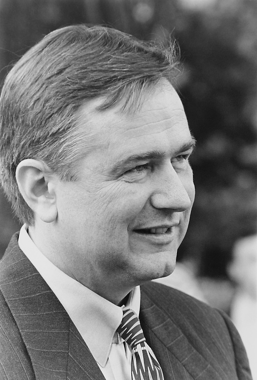 Steve Stockman. August 1995 (Photo by Maureen Keating/CQ Roll Call)