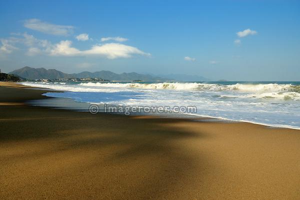 Asia, Vietnam, Nha Trang. Nha Trang's beach.