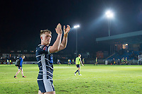 Picture by Allan McKenzie/SWpix.com - 11/05/2017 - Rugby League - Ladbrokes Challenge Cup - Featherstone Rovers v Halifax RLFC - The LD Nutrition Stadium, Featherstone, England  - Cory Aston thanks the fans for their support.