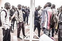 Exposition sur la SOFRETES à la bibliothèque de l'Université de Dakar