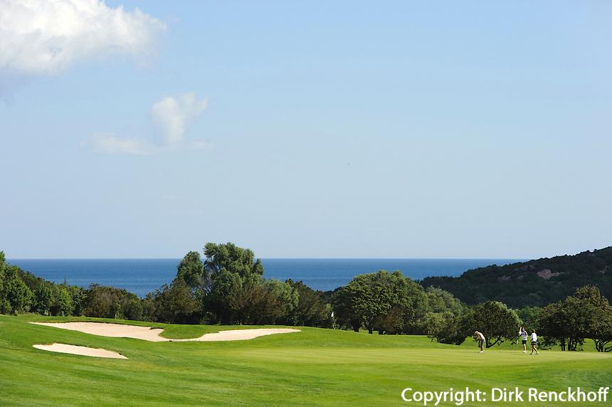 Pevero Golf Club, Cala di Volpe, Costa Smeralda , Provinz Olbia-Tempio, Sardinien, Italien