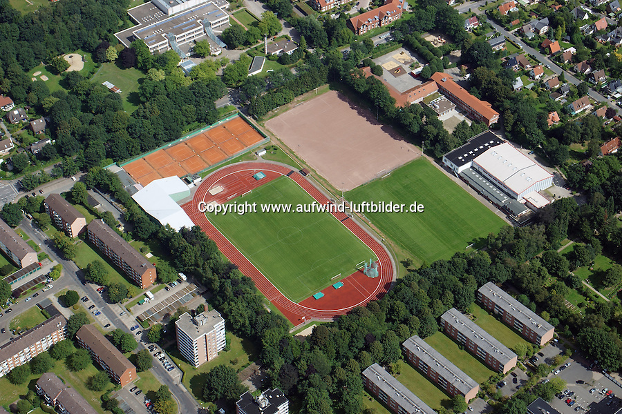 Paul-Luckow-Stadion: EUROPA, DEUTSCHLAND, SCHLESWIG- HOLSTEIN, REINBEK,  (GERMANY), 20.02.2012: Paul-Luckow-Stadion