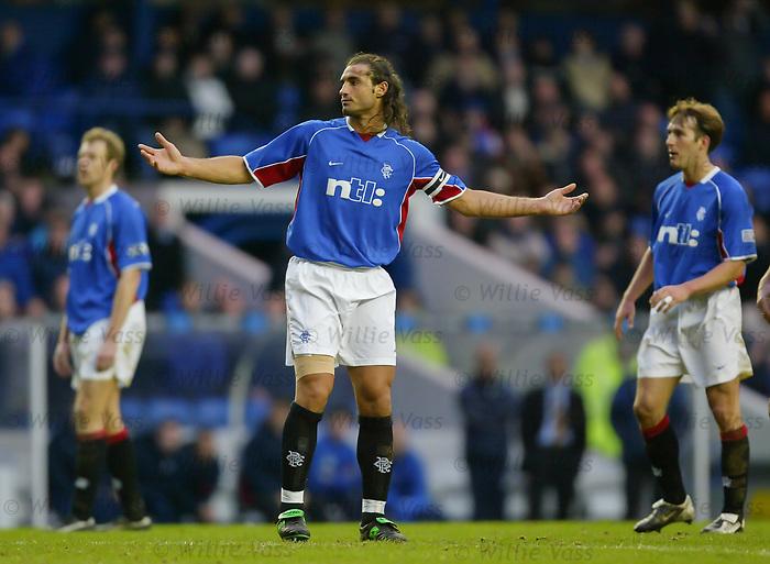 Lorenzo Amoruso, Rangers. February 2002
