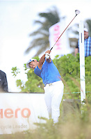 151206 Japan's Hidecki Matsuyama during Sunday's Final Round of the Hero World Challenge at The Albany Golf Club, in New Providence, Nassau, Bahamas.(photo credit : kenneth e. dennis/kendennisphoto.com)