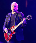 Alex Lifeson of the Canadian rock band RUSH performs at the Giant Center in Hershey, Pa. April 8, 2011..Copyright EML/Rockinexposures.com.
