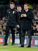 6th February 2019, Celtic Park, Glasgow, Scotland; Ladbrokes Premiership football, Celtic versus Hibernian; Brendan Rodgers Celtic Manager