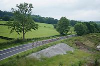 stretched peloton<br /> <br /> stage 4: Hotel Verviers - La Gileppe (Jalhay/BEL) 186km <br /> 30th Ster ZLM Toer 2016