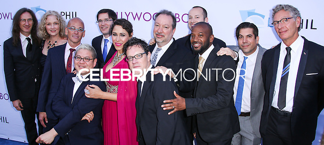 HOLLYWOOD, LOS ANGELES, CA, USA - JUNE 21: Pink Martini at the 2014 Hollywood Bowl Opening Night And Hall Of Fame Inductions held at the Hollywood Bowl on June 21, 2014 in Hollywood, Los Angeles, California, United States. (Photo by Xavier Collin/Celebrity Monitor)