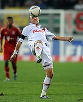 FUSSBALL   1. BUNDESLIGA  SAISON 2011/2012   12. Spieltag FC Augsburg - FC Bayern Muenchen         06.11.2011 Dominik Reinhardt (FC Augsburg)