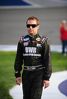 Feb 21, 2009; Fontana, CA, USA; NASCAR Nationwide Series driver Brandon Whitt prior to the Stater Brothers 300 at Auto Club Speedway. Mandatory Credit: Mark J. Rebilas-