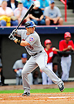 1 March 2011: New York Mets' third baseman David Wright in action during a Spring Training game against the Washington Nationals at Space Coast Stadium in Viera, Florida. The Nationals defeated the Mets 5-3 in Grapefruit League action. Mandatory Credit: Ed Wolfstein Photo