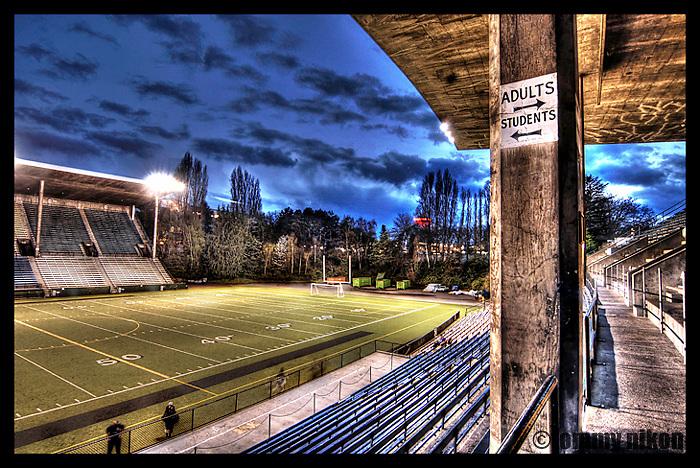 Memorial Stadium @ Seattle Center, HDR #001