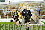 at the Kerry Senior Football Team Media day at Fitzgerald Stadium on Saturday.