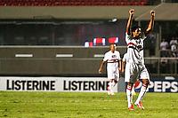 ATENÇÃO EDITOR: FOTO EMBARGADA PARA VEÍCULOS INTERNACIONAIS SÃO PAULO,SP,15 SETEMBRO 2012 - CAMPEONATO BRASILEIRO - SÃO PAULO x PORTUGUESA -Cortes  jogador do São Paulo comemora gol   durante partida São Paulo x Portuguesa  válido pela 25º rodada do Campeonato Brasileiro no Estádio Cicero Pompeu de Toledo  (Morumbi), na região sul da capital paulista na noite deste sabado (15). (FOTO: ALE VIANNA -BRAZIL PHOTO PRESS).