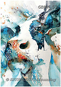 Simon, REALISTIC ANIMALS, REALISTISCHE TIERE, ANIMALES REALISTICOS, paintings+++++LizC_LaVacheI,GBWR53,#a#, EVERYDAY