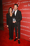 Designers Rebecca Minkoff and Uri Minkoff receive the Technology In Brand Development Award at The Fashion Group International's Night of Stars 2017 gala at Cipriani Wall Street on October 26, 2017.