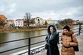 Die Stadt Uschhorod liegt an dem Fluß Usch und in der Nähe der ukrainisch-ungarischen Grenze. / Fotos: Balint Hirling, n-ost