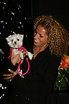 Actress Michelle Hurd with puppy now on Gossip Girl & was on Another World at the First Annual StarPet 2008 Awards Luncheon as dogs and cats compete for a career in showbusiness on November 10, 2008 at the Edison Ballroom, New York, New York. The event benefitted Bideawee and NY SAVE. (Photo by Sue Coflin/Max Photos