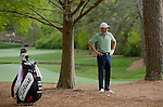Jordan Spieth during the fourth round of the 2014 Masters held in Augusta, GA at Augusta National Golf Club on Sunday, April 13, 2014.