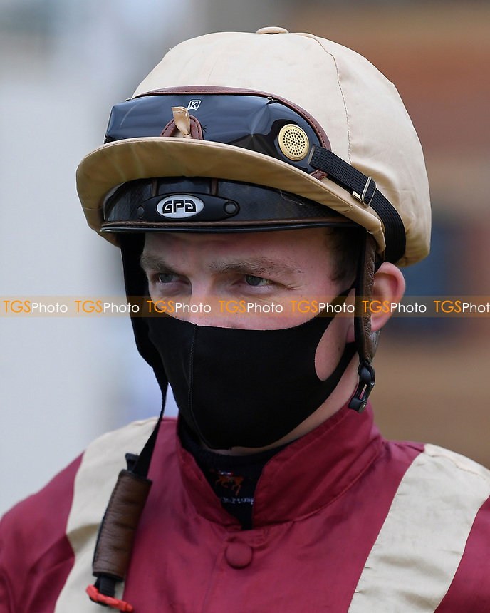 Jockey Rob Hornby during Horse Racing at Salisbury Racecourse on 11th September 2020