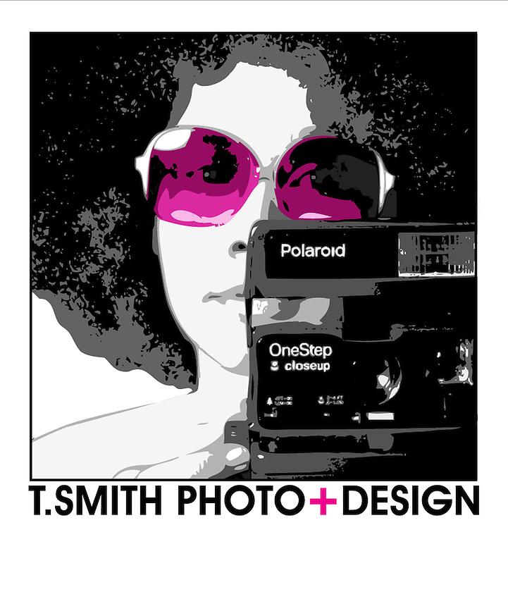 Logo Design for T.SMITH PHOTO+DESIGN